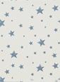 Hibboux Dream Like A Star Çift Kişilik Nevresim Takımı Mavi